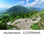 the slope in vratna valley at... | Shutterstock . vector #1127054441