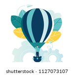 vector illustration  search for ... | Shutterstock .eps vector #1127073107