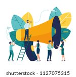 vector illustration  flat style ...   Shutterstock .eps vector #1127075315