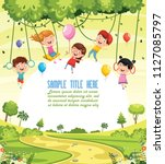 vector illustration of children ...   Shutterstock .eps vector #1127085797