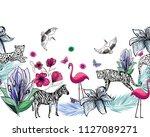 Abstract Exotic Animal Seamless ...