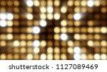 flashing lights bulb spotlight... | Shutterstock . vector #1127089469
