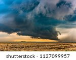 a large tornadic mesocyclone...