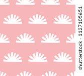 seamless pattern  geometric art ... | Shutterstock .eps vector #1127105651