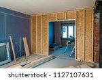 interior of a house under... | Shutterstock . vector #1127107631
