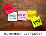 task management concept from... | Shutterstock . vector #1127120714