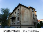 old neglected house | Shutterstock . vector #1127131067