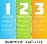 vector progress background for... | Shutterstock .eps vector #112713931