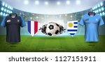football cup 2018 world... | Shutterstock .eps vector #1127151911