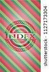 index christmas colors style... | Shutterstock .eps vector #1127173304