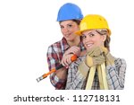 handywomen | Shutterstock . vector #112718131