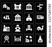 set of 16 icons such as...   Shutterstock .eps vector #1127184785