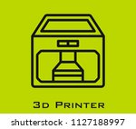 3d printer icon signs