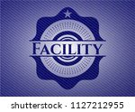 facility with jean texture   Shutterstock .eps vector #1127212955