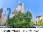 new york  usa  august 14  2017  ... | Shutterstock . vector #1127218964