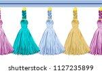 seamless border pattern ...   Shutterstock .eps vector #1127235899