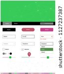 light pink  green vector...