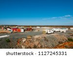 exploration mining camp  ... | Shutterstock . vector #1127245331