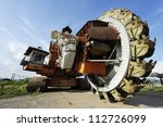 Giant Bucket Wheel Excavator...