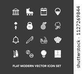 modern  simple vector icon set...   Shutterstock .eps vector #1127269844