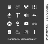 modern  simple vector icon set... | Shutterstock .eps vector #1127270087