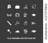 modern  simple vector icon set...   Shutterstock .eps vector #1127275841