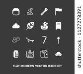 modern  simple vector icon set... | Shutterstock .eps vector #1127278391