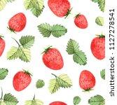 seamless pattern of... | Shutterstock . vector #1127278541