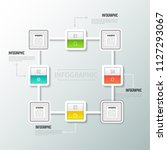 modern infographics vector... | Shutterstock .eps vector #1127293067