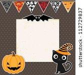 Cute Halloween Party Card With...