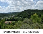scenic landscape of rural area...   Shutterstock . vector #1127321039
