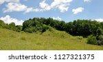 scenic landscape of rural area...   Shutterstock . vector #1127321375