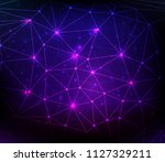abstract communication concept... | Shutterstock . vector #1127329211