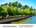 the medieval citadel of namur ... | Shutterstock . vector #1127339237