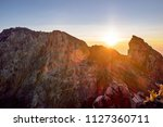 sunrise view at the top of... | Shutterstock . vector #1127360711