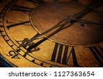 close up old antique classic... | Shutterstock . vector #1127363654