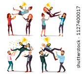 winner business people set... | Shutterstock .eps vector #1127400017