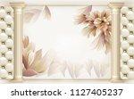 3d illustration   light... | Shutterstock . vector #1127405237