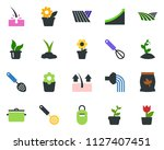 colored vector icon set   field ... | Shutterstock .eps vector #1127407451