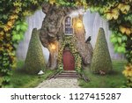Fairy Tree House In Fantasy...