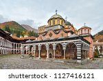 beautiful view of the orthodox... | Shutterstock . vector #1127416121