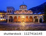 beautiful view of the orthodox... | Shutterstock . vector #1127416145
