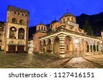 beautiful view of the orthodox... | Shutterstock . vector #1127416151