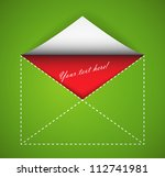 envelope background with...