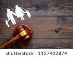 family law  family right... | Shutterstock . vector #1127422874
