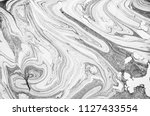 suminagashi   the ancient art... | Shutterstock . vector #1127433554