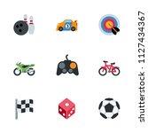 computer games  sport... | Shutterstock .eps vector #1127434367