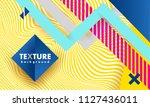 vector abstract background... | Shutterstock .eps vector #1127436011
