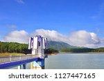 landscape at tuyen lam lake ...   Shutterstock . vector #1127447165