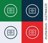 diploma icon vector | Shutterstock .eps vector #1127466125